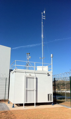 Container para Estação de Monitoramento da Qualidade do Ar CON 4_REV01_2013